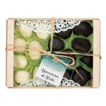 Dark & White Chocolate Figs from Calabria